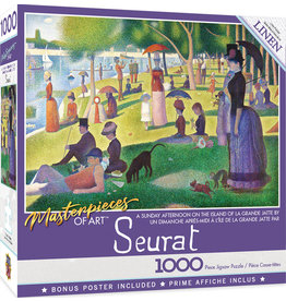 MASTERPIECES SUNDAY AFTERNOON SEURAT 1000 PIECE PUZZLE