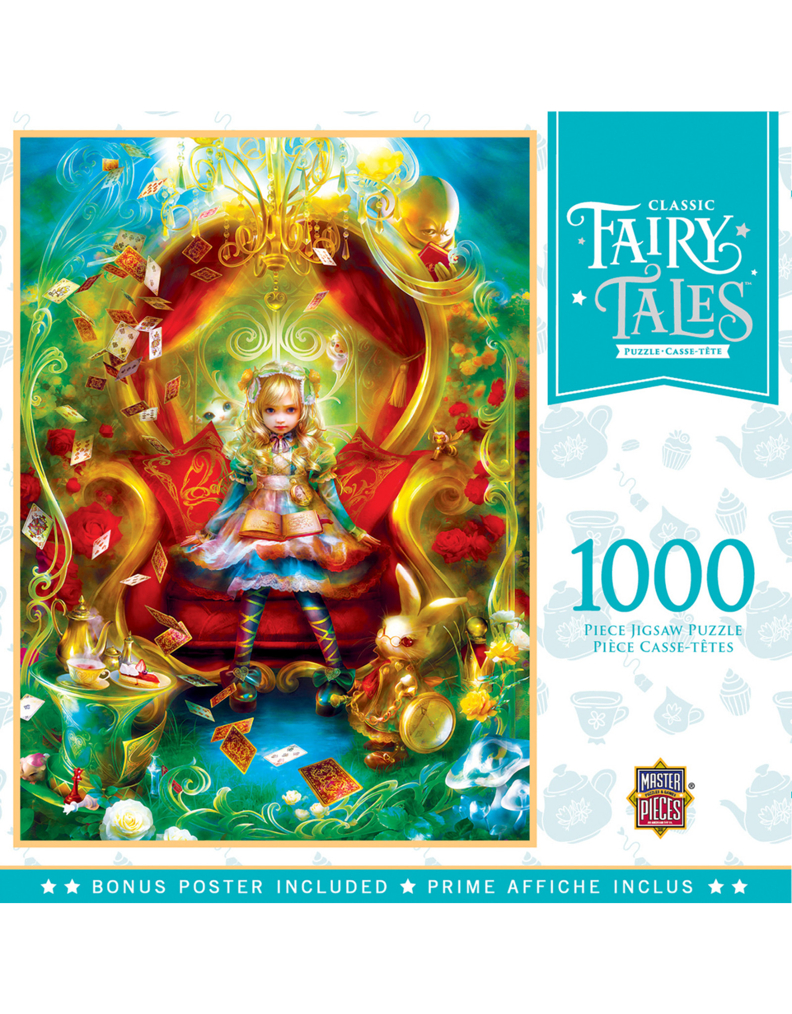 CLASSIC FAIRY TALES TEA PARTY TIME 1000 PIECE PUZZLE