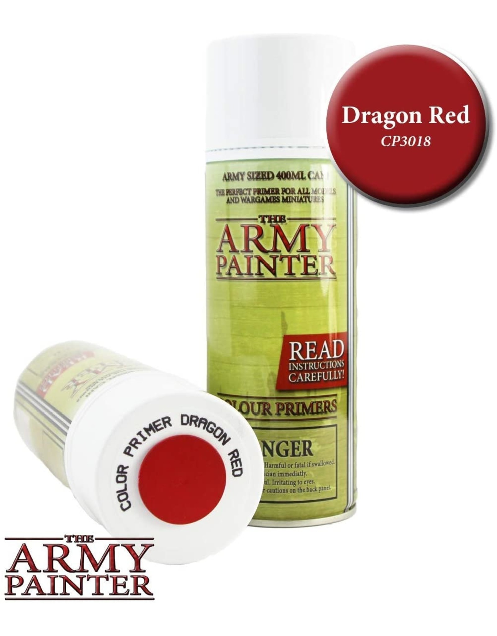 THE ARMY PAINTER ARMY PAINTER COLOR PRIMER DRAGON RED