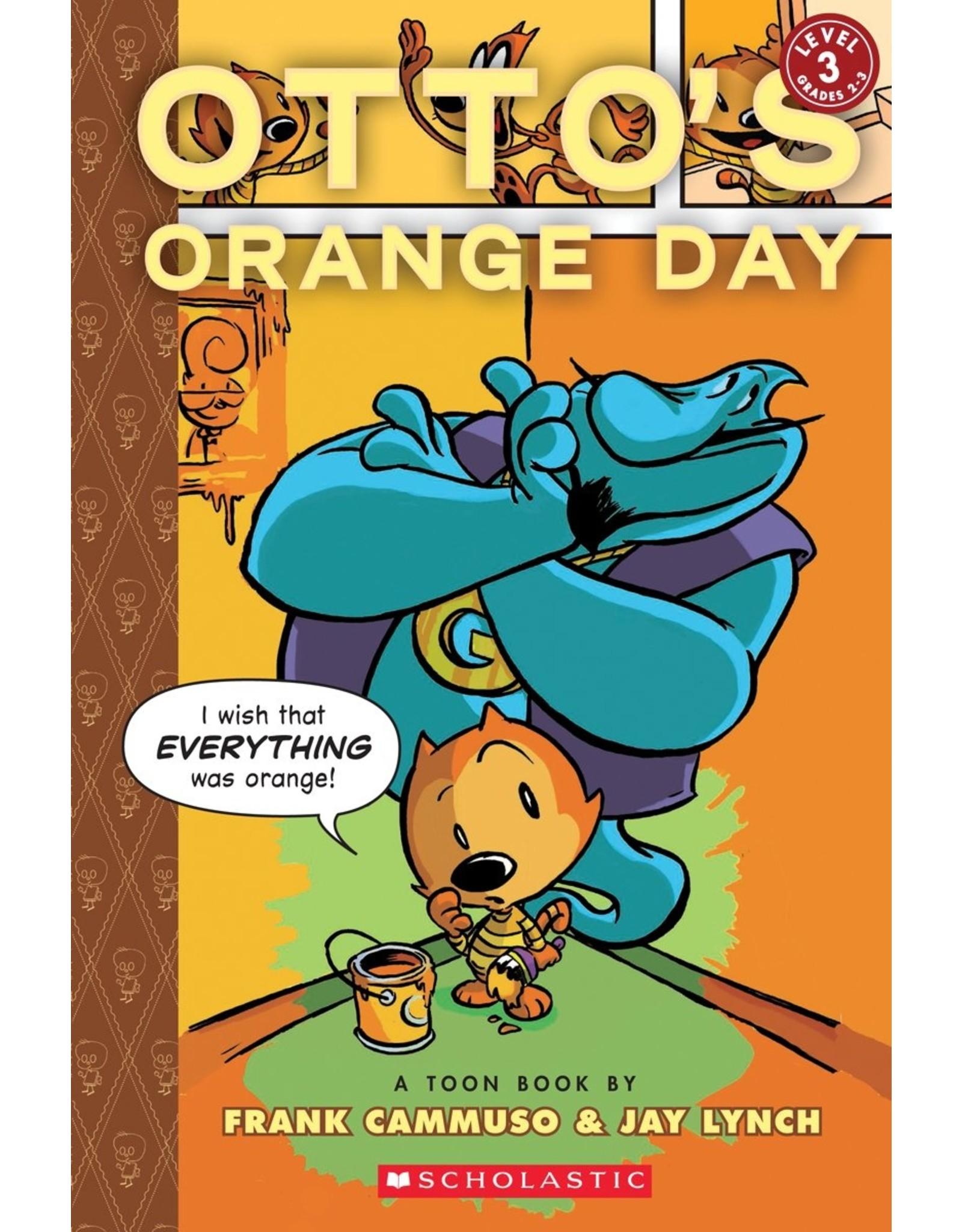 TOON BOOKS OTTO'S ORANGE DAY