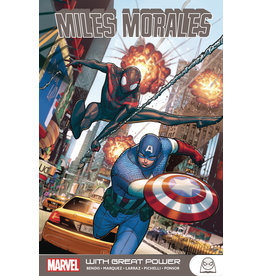 MARVEL COMICS MILES MORALES GN TP WITH GREAT POWER