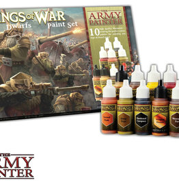 THE ARMY PAINTER KINGS OF WAR DWARFS PAINT SET
