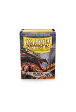 DRAGON SHIELD 100 CT SLEEVES MATTE NON-GLARE BLACK