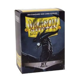 DRAGON SHIELD 100 CT SLEEVES MATTE JET