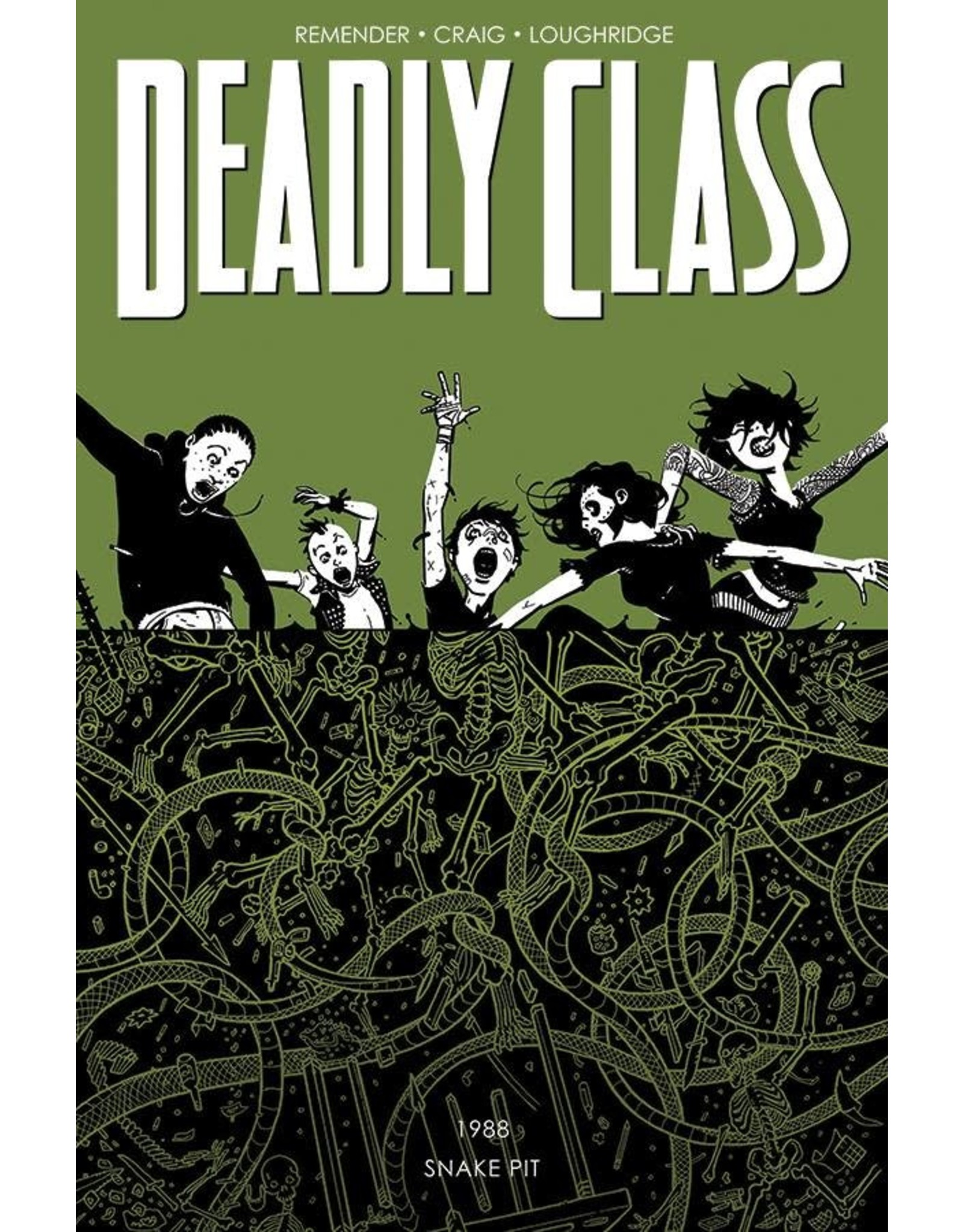IMAGE COMICS DEADLY CLASS TP VOL 03 THE SNAKE PIT