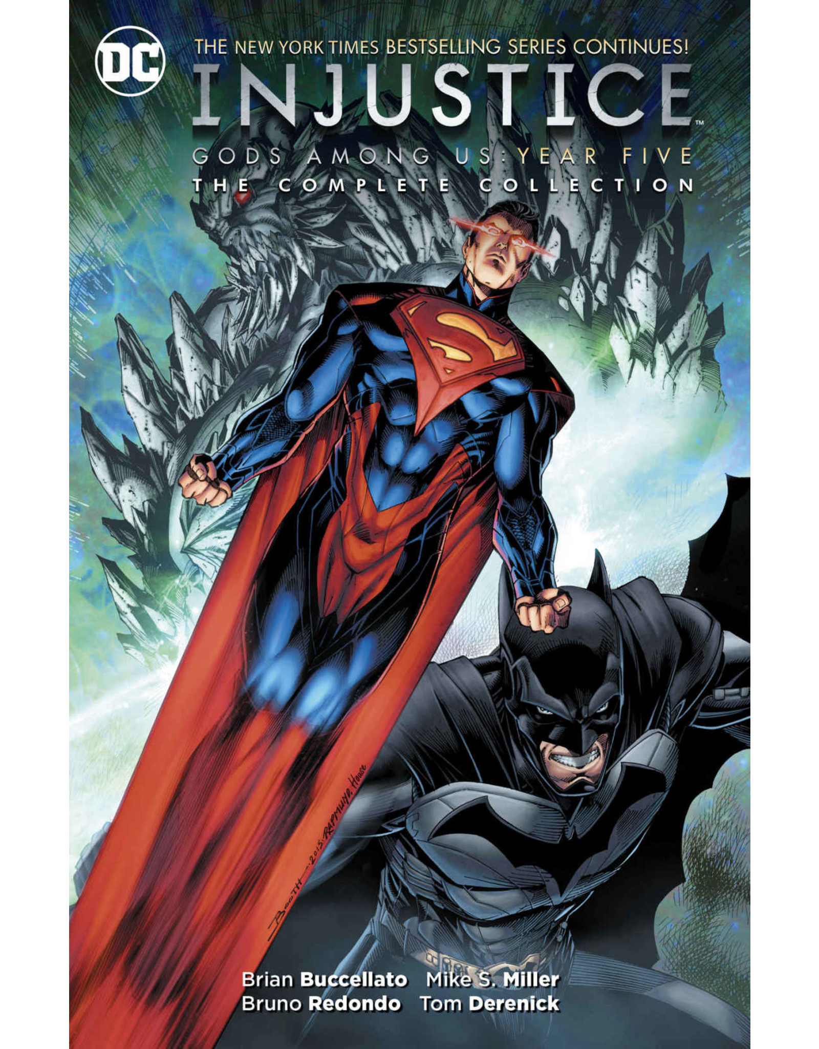 DC COMICS INJUSTICE GODS AMONG US YEAR FIVE COMPLETE COLL TP