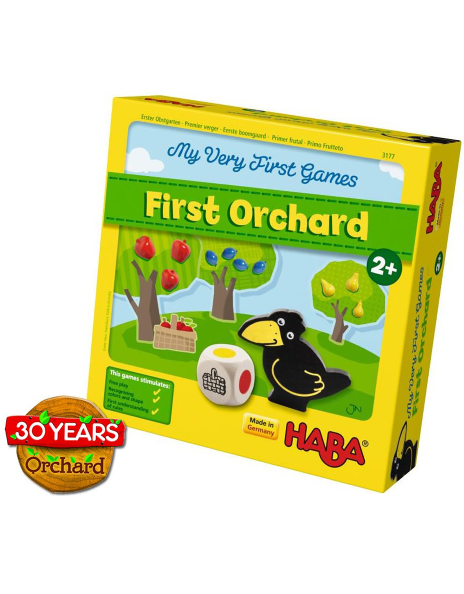 HABA GAMES MY VERY FIRST GAMES FIRST ORCHARD