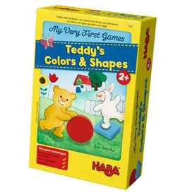 HABA GAMES MY VERY FIRST GAMES TEDDYS COLORS & SHAPES