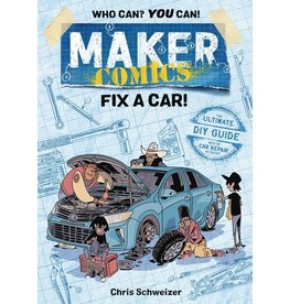 :01 FIRST SECOND MAKER COMICS GN FIX A CAR