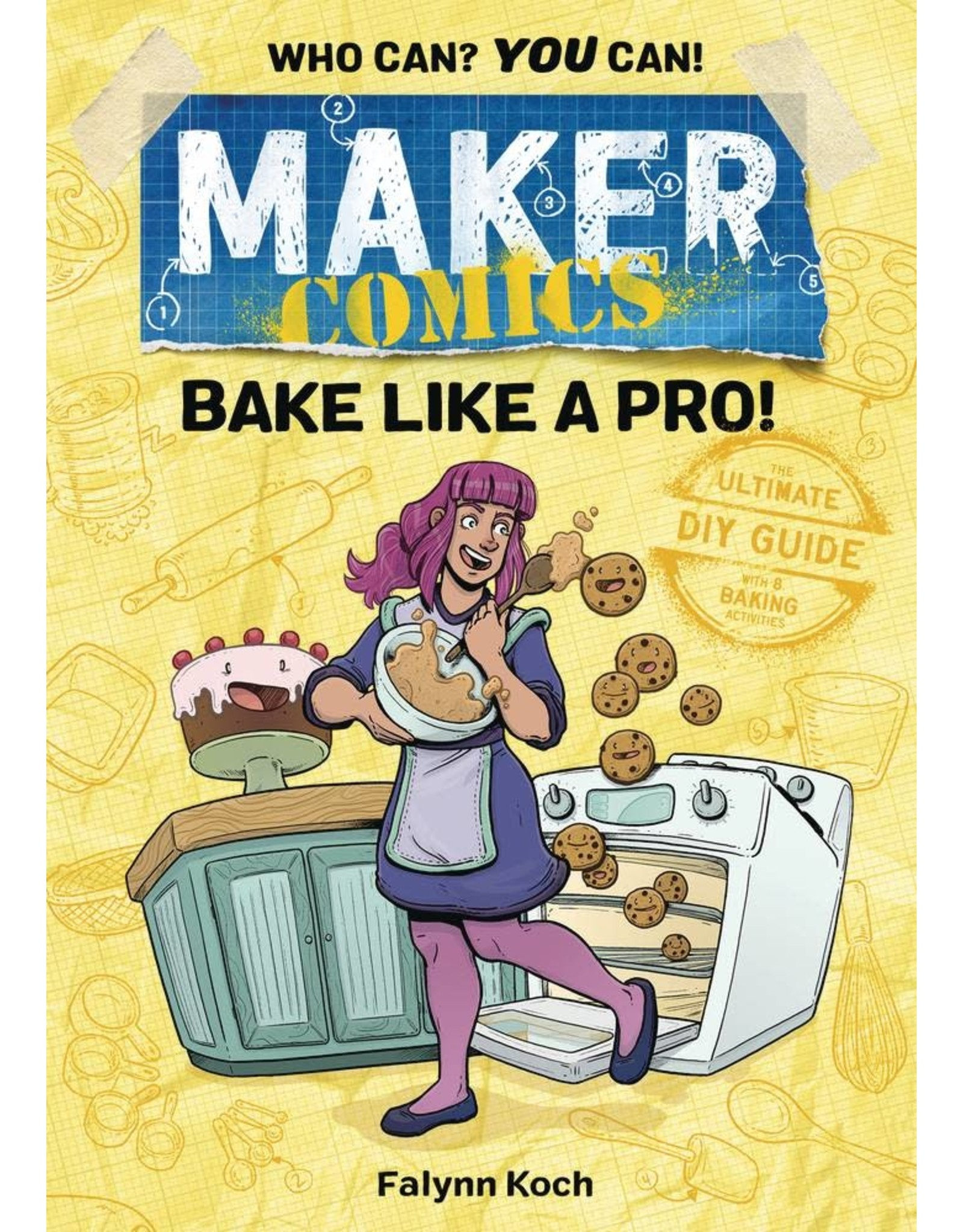 :01 FIRST SECOND MAKER COMICS GN BAKE LIKE A PRO