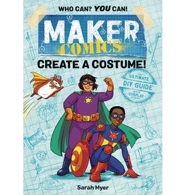 :01 FIRST SECOND MAKER COMICS GN CREATE A COSTUME
