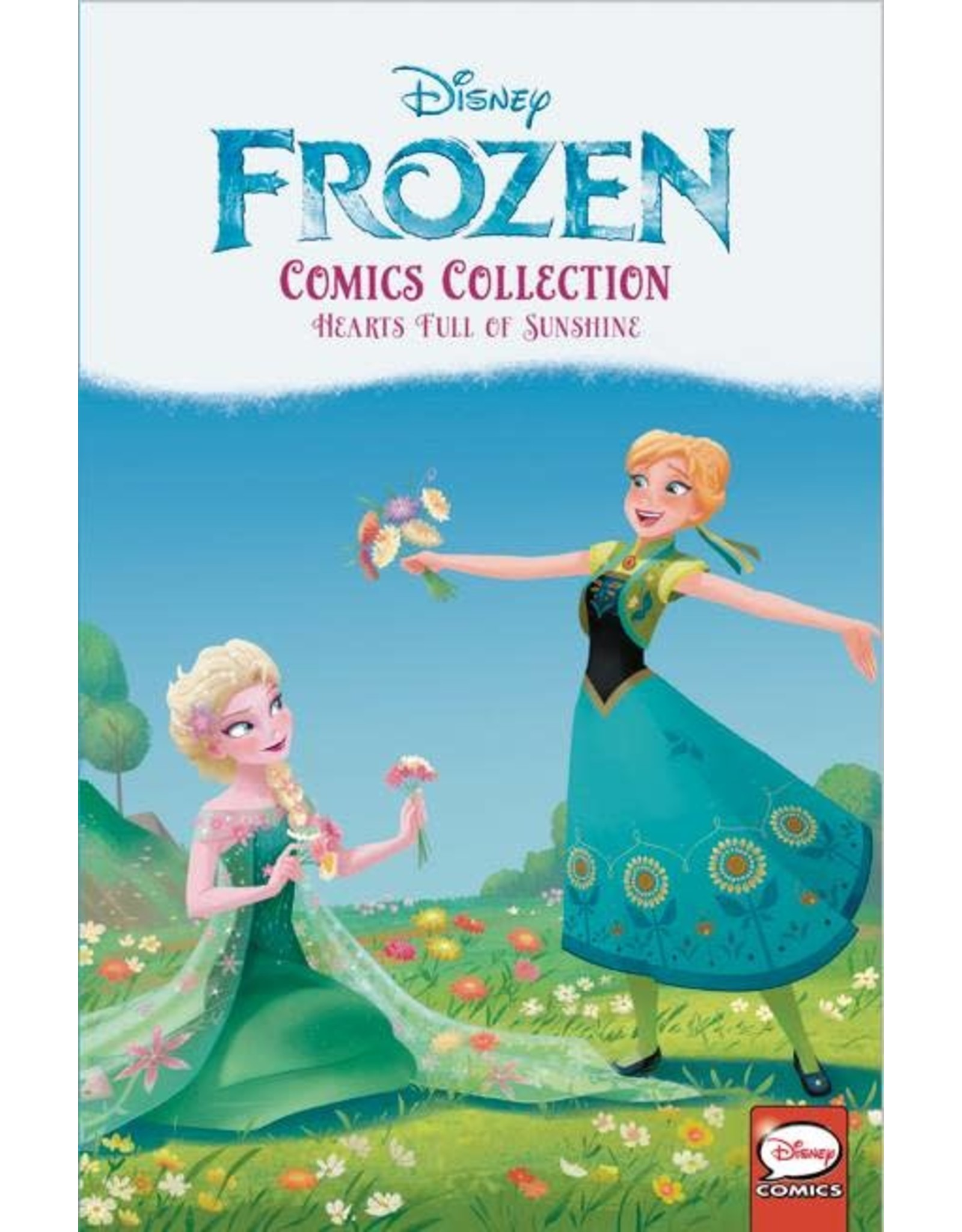 JOE BOOKS INC. DISNEY FROZEN COMICS COLL HEARTS FULL OF SUNSHINE TP