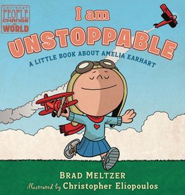 DIAL BOOKS I AM UNSTOPPABLE AMELIA EARHART BOARD BOOK