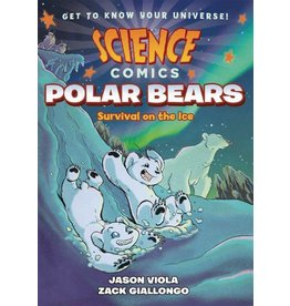 :01 FIRST SECOND SCIENCE COMICS POLAR BEARS SC GN
