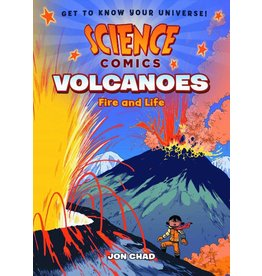:01 FIRST SECOND SCIENCE COMICS VOLCANOES SC GN
