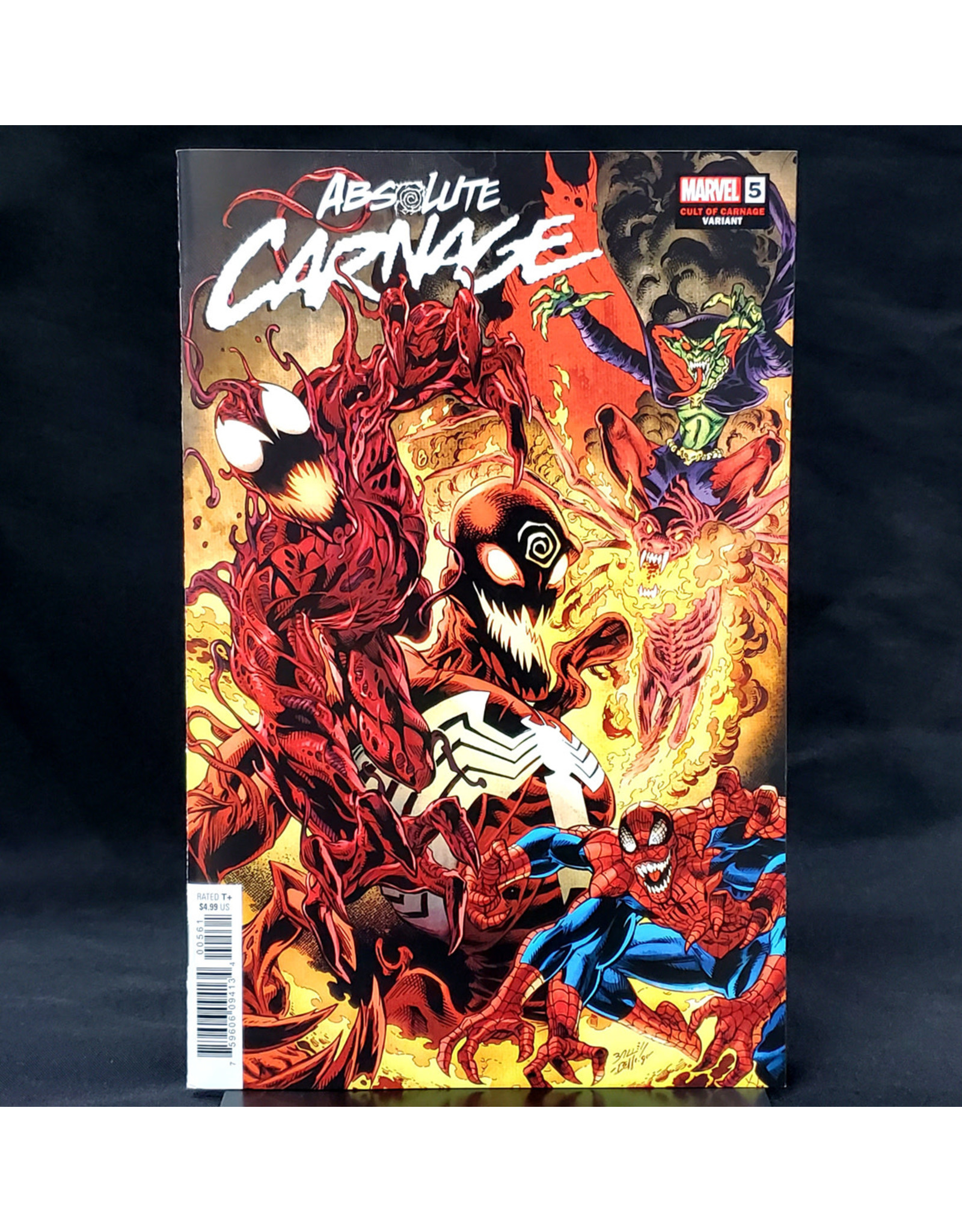 MARVEL COMICS ABSOLUTE CARNAGE #5 (OF 5) BAGLEY CULT OF CARNAGE VARIANT