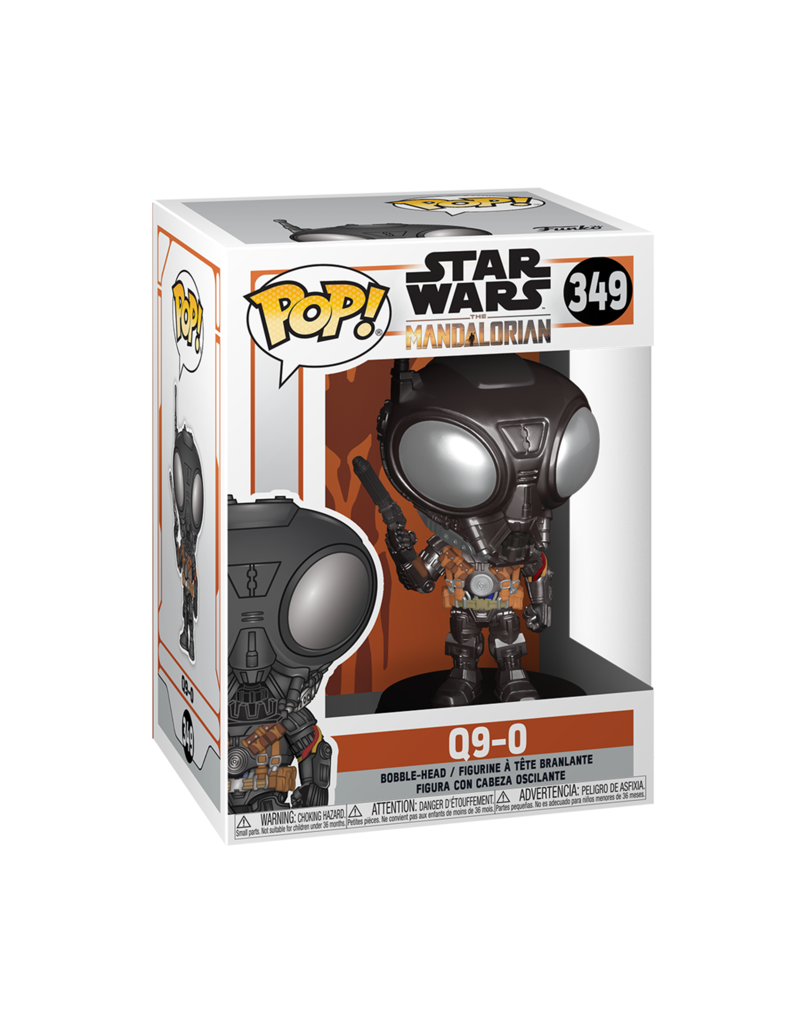 FUNKO POP STAR WARS MANDALORIAN Q9-0