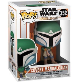 FUNKO POP STAR WARS MANDALORIAN COVERT MANDALORIAN