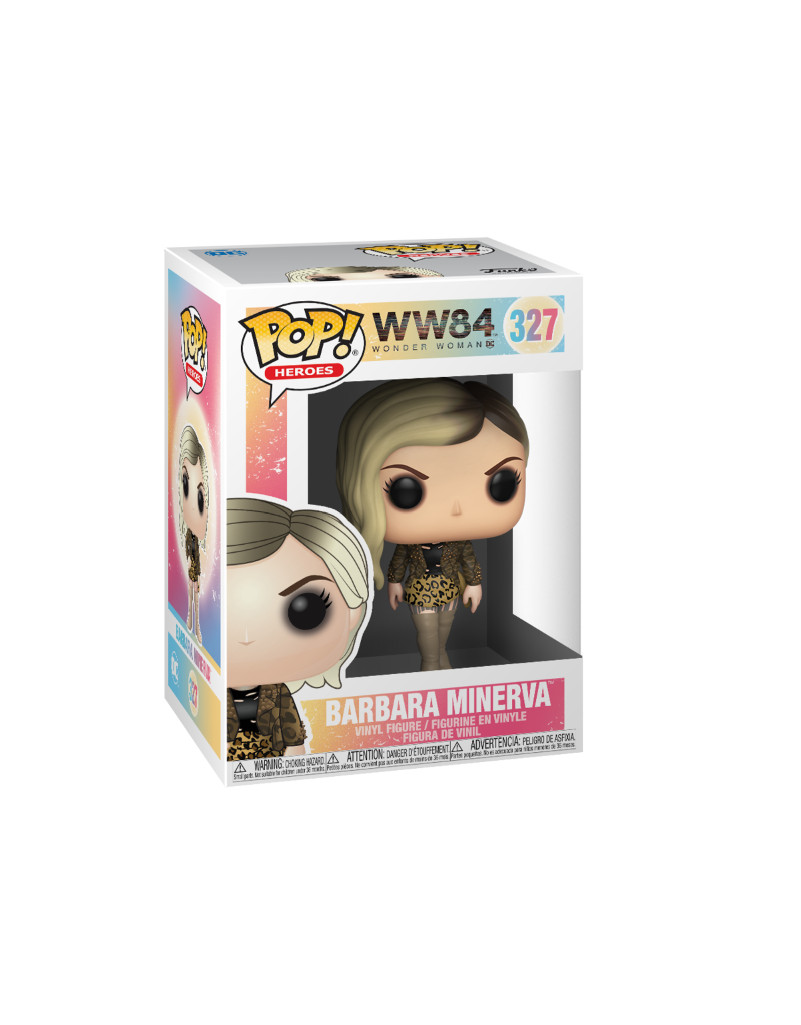 FUNKO POP HEROES WONDER WOMAN 1984 BARBARA MINERVA