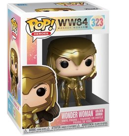FUNKO POP HEROES WONDER WOMAN 1984 WONDER WOMAN IN GOLDEN ARMOR