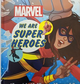 DK PUBLISHING CO MARVEL WE ARE SUPER HEROES HC