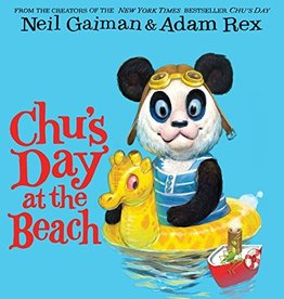 HARPER COLLINS PUBLISHERS NEIL GAIMAN CHUS DAY AT BEACH BOARD BOOK
