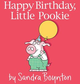 SIMON & SCHUSTER HAPPY BIRTHDAY, LITTLE POOKIE BOARD BOOK