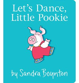 SIMON & SCHUSTER LET'S DANCE, LITTLE POOKIE BOARD BOOK