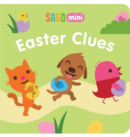 SIMON & SCHUSTER EASTER CLUES BOARD BOOK