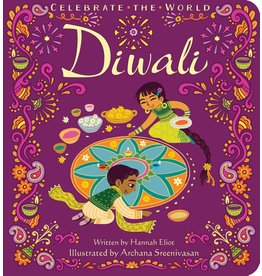SIMON & SCHUSTER CELEBRATE THE WORLD DIWALI BOARD BOOK