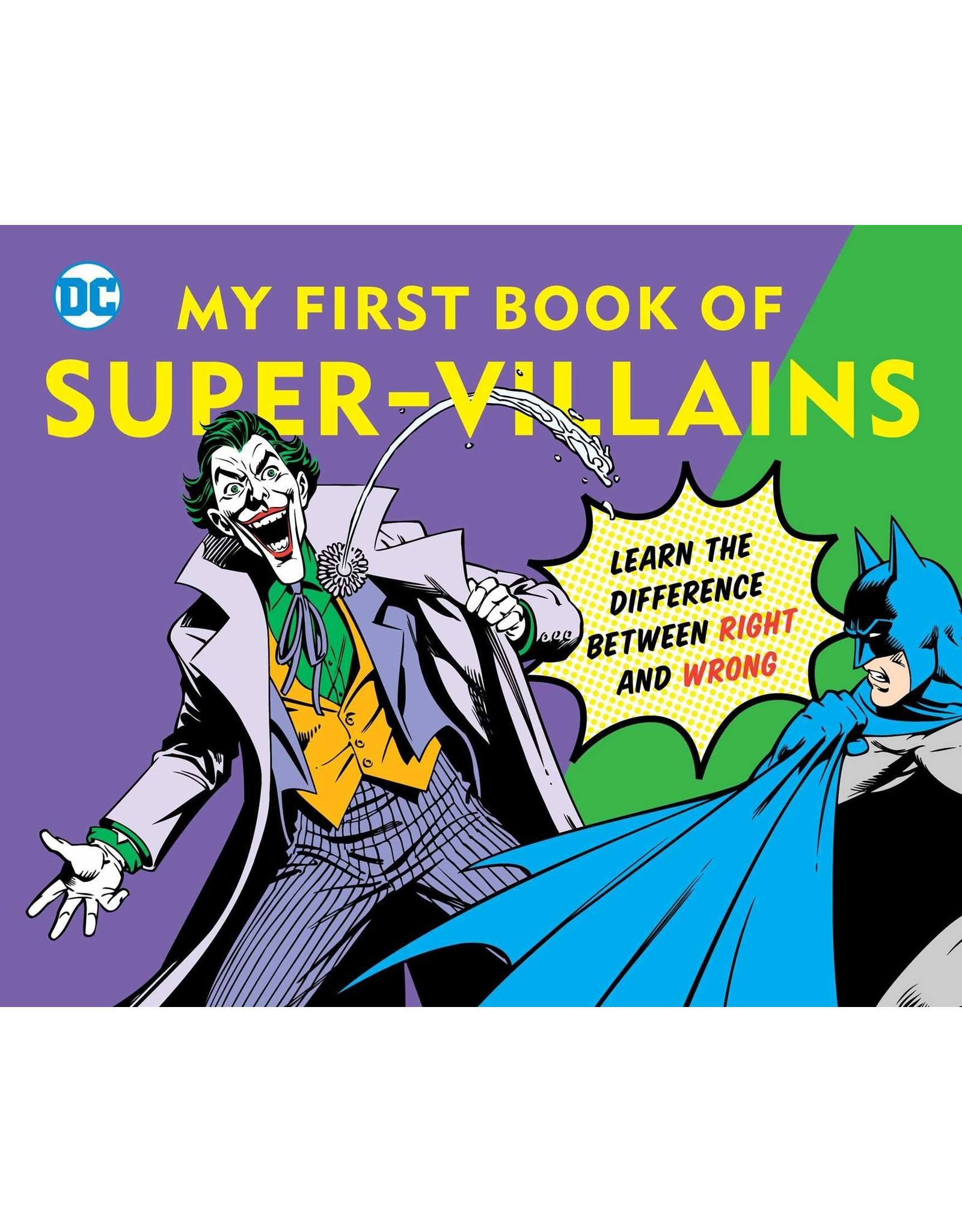 DOWNTOWN BOOKWORKS DC MY FIRST BOOK OF SUPER VILLAINS BOARD BOOK