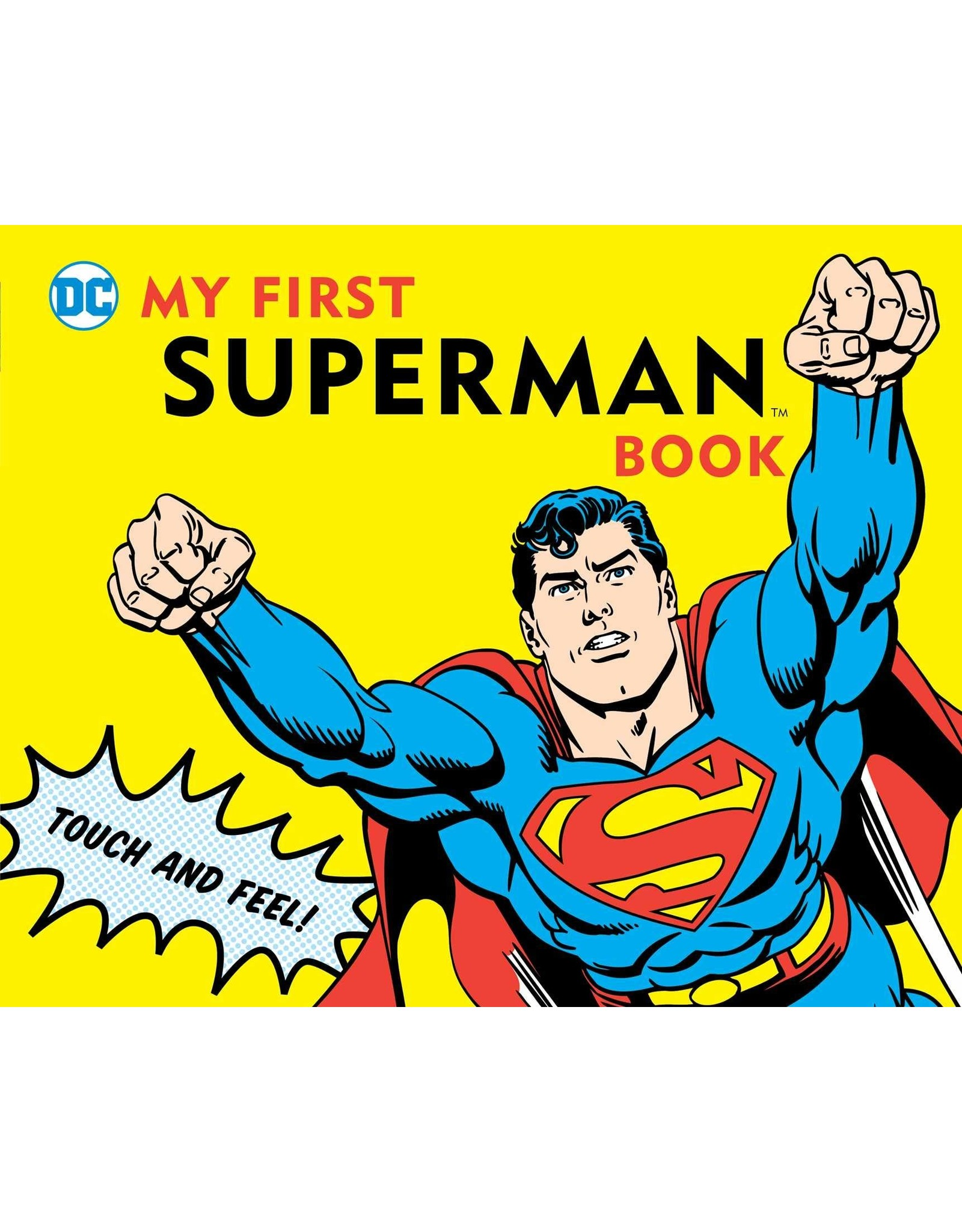 DOWNTOWN BOOKWORKS MY FIRST SUPERMAN BOOK BOARD BOOK NEW PTG