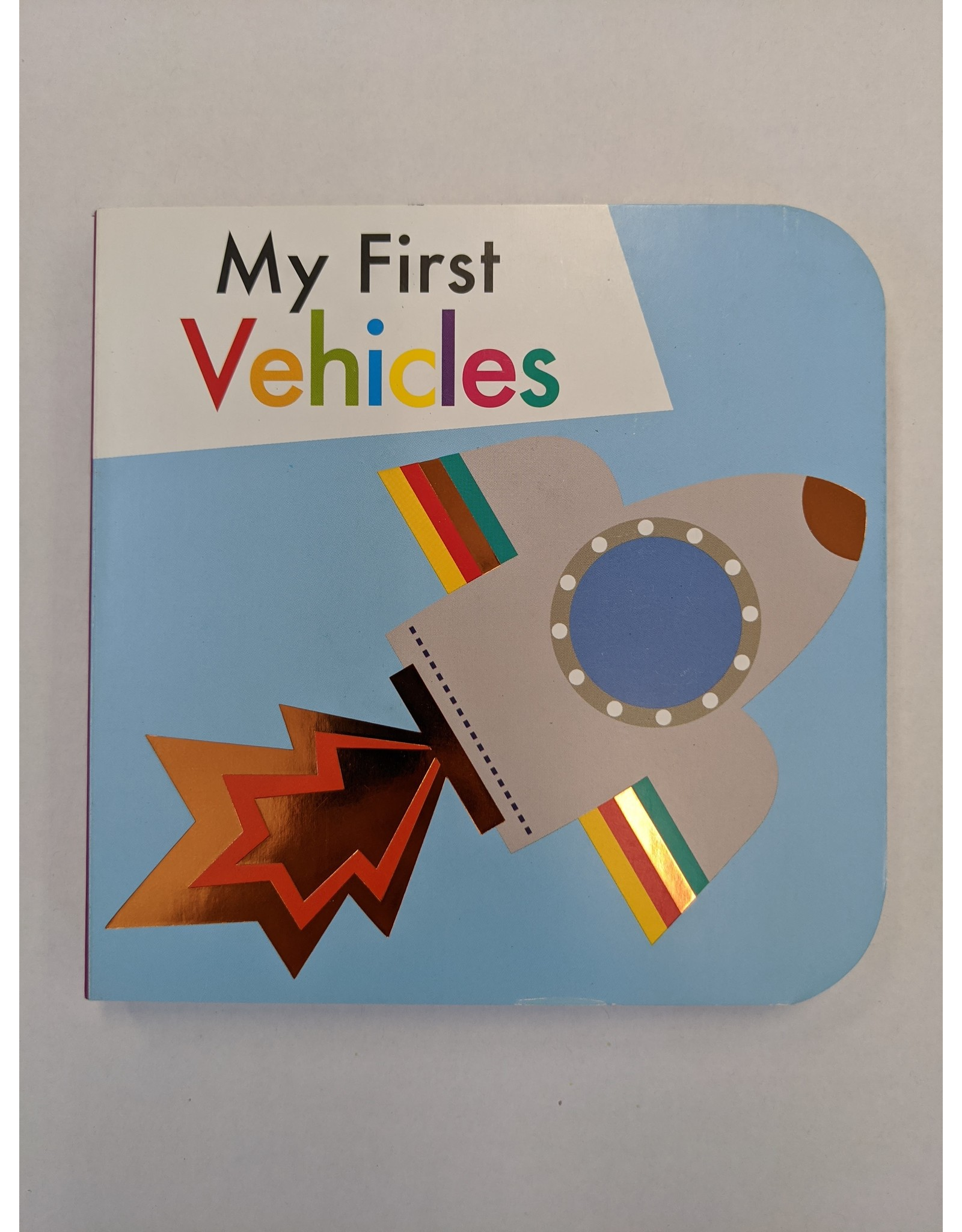 SIMON & SCHUSTER MY FIRST VEHICLES BOARD BOOK