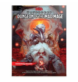 WIZARDS OF THE COAST D&D WATERDEEP DUNGEON OF THE MAD MAGE HC