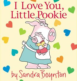 SIMON & SCHUSTER I LOVE YOU LITTLE POOKIE BOARD BOOK