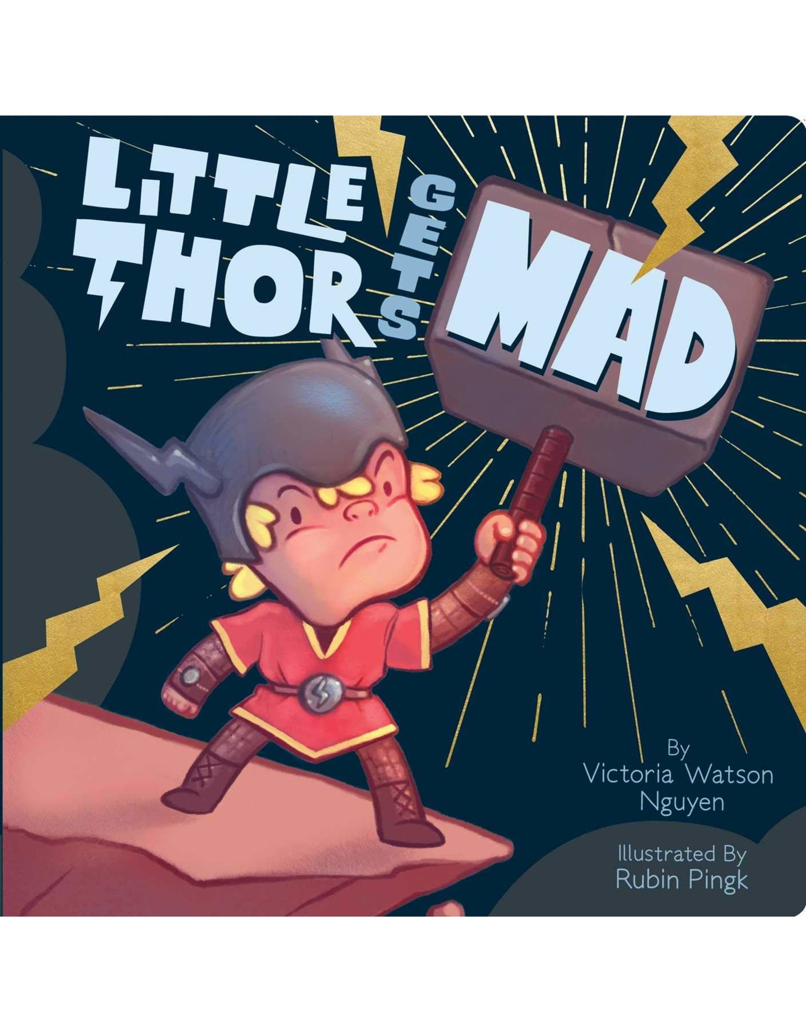 SIMON & SCHUSTER LITTLE THOR GETS MAD  BOARD BOOK