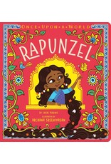 SIMON & SCHUSTER ONCE UPON A WORLD RAPUNZEL  BOARD BOOK