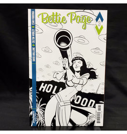 D. E. BETTIE PAGE #3 CHANTLER B&W INCENTIVE VARIANT