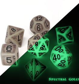 DIE HARD DICE DIE HARD DICE 7 CT RPG DICE SET SPECTRAL GOLEM