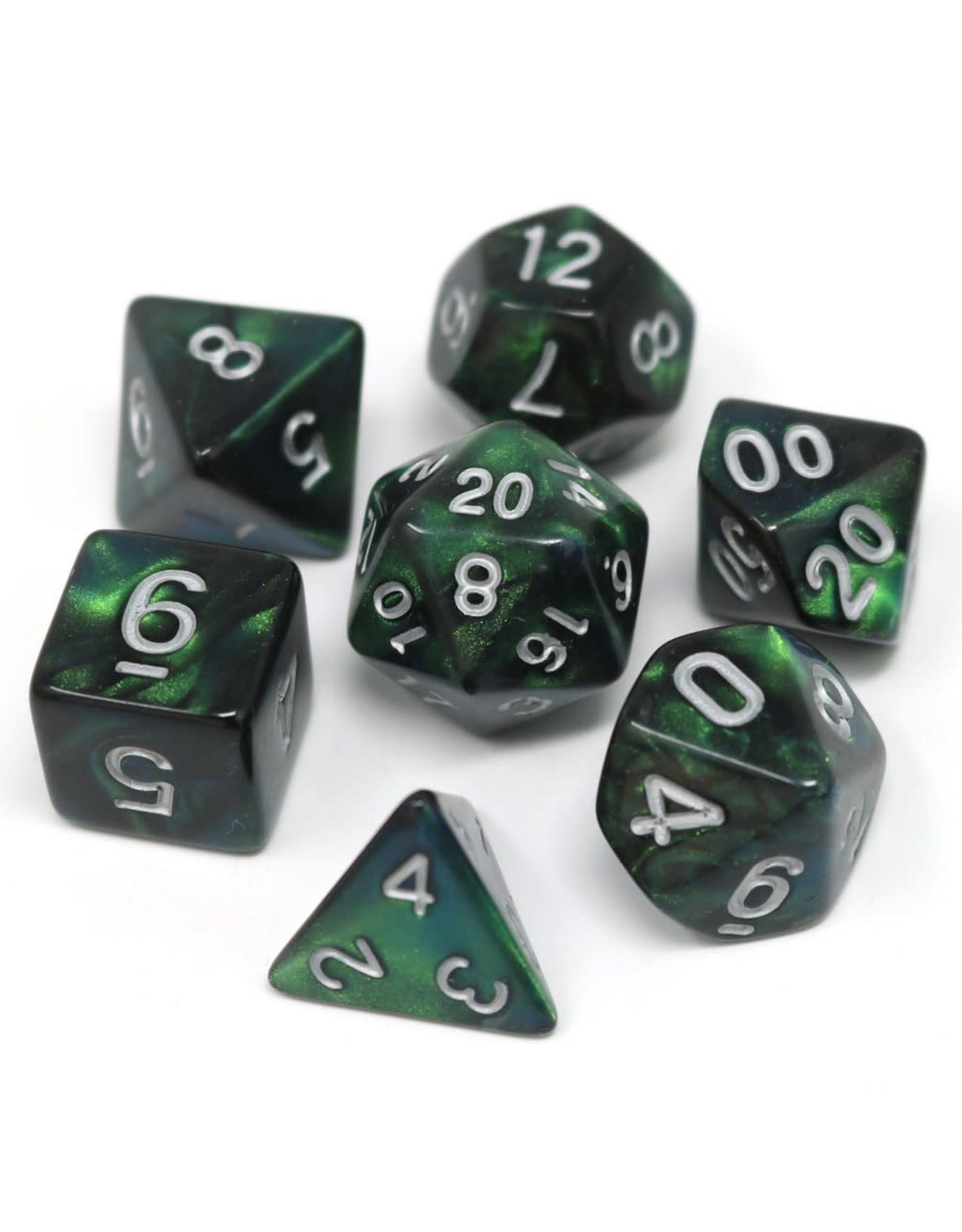 DIE HARD DICE DIE HARD DICE 7 CT RPG DICE SET - SPRING EQUINOX