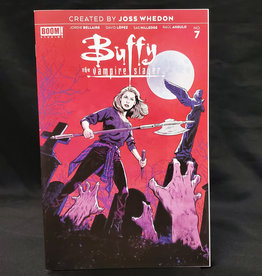 BOOM! STUDIOS BUFFY THE VAMPIRE SLAYER #7 25 COPY WALSH INCENTIVE VARIANT