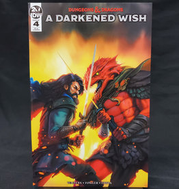 IDW PUBLISHING DUNGEONS & DRAGONS A DARKENED WISH #4 (OF 5) 10 COPY INCENTIVE SWAID VARIANT