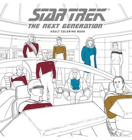 DARK HORSE COMICS STAR TREK NEXT GENERATION ADULT COLORING BOOK