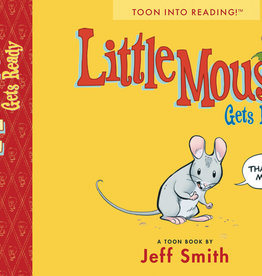 TOON BOOKS LITTLE MOUSE GETS READY TP LEVEL 1 READER