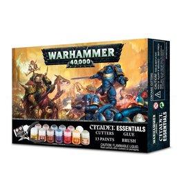 GAMES WORKSHOP WARHAMMER 40K CITADEL ESSENTIALS SET