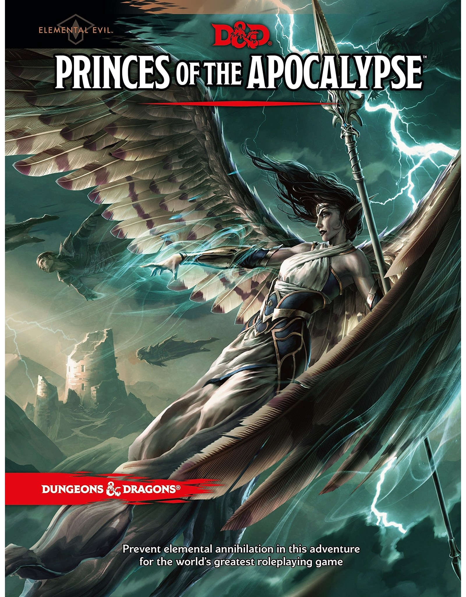 WIZARDS OF THE COAST DUNGEONS & DRAGONS 5TH EDITION PRINCES OF THE APOCALYPSE HC