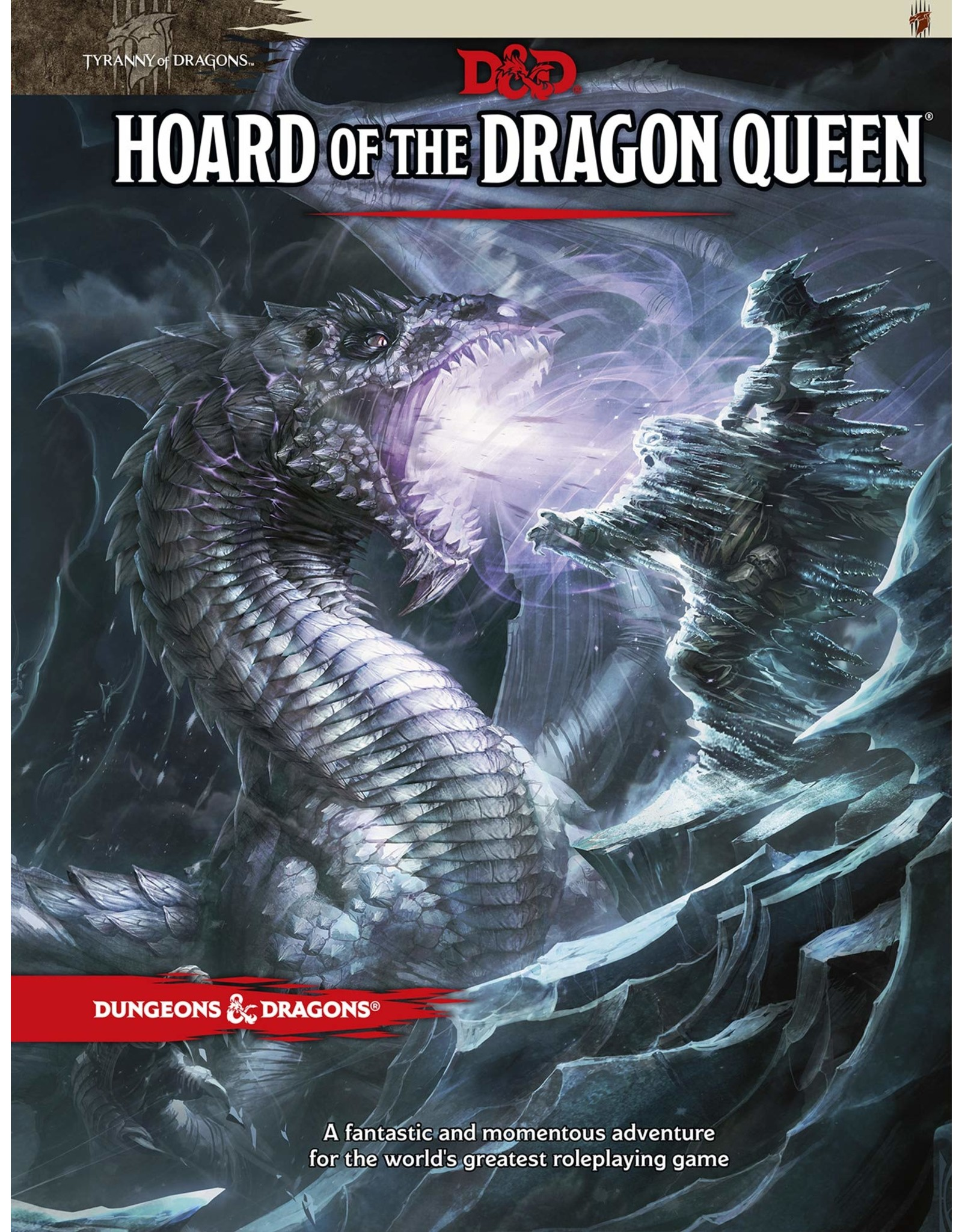 WIZARDS OF THE COAST DUNGEONS & DRAGONS RPG 5TH ED/NEXT HOARD OF THE DRAGON QUEEN