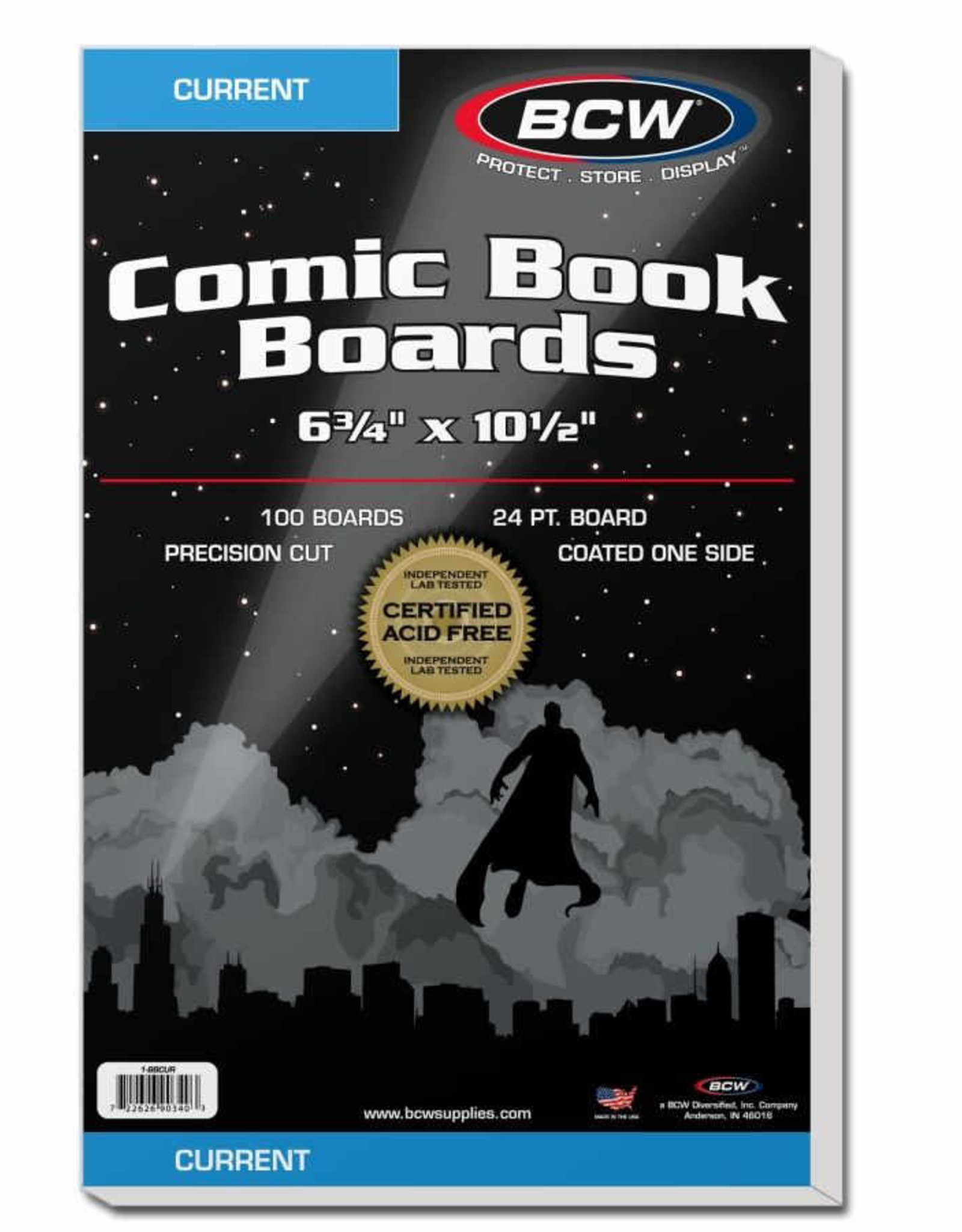 BCW BOARDS CURRENT SOLD IN BUNDLES OF 100