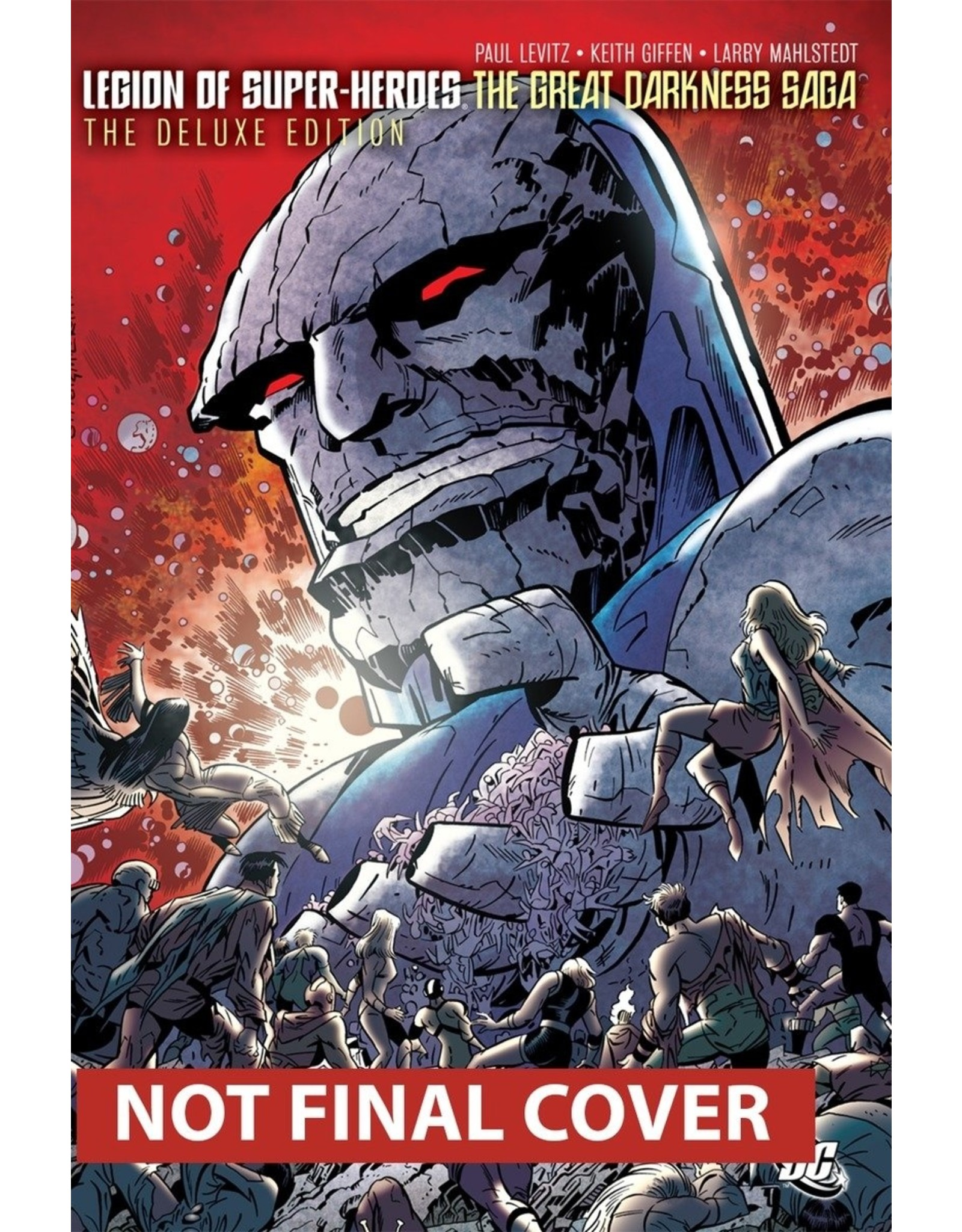 DC COMICS LEGION OF SUPER-HEROES GREAT DARKNESS SAGA DLX HC