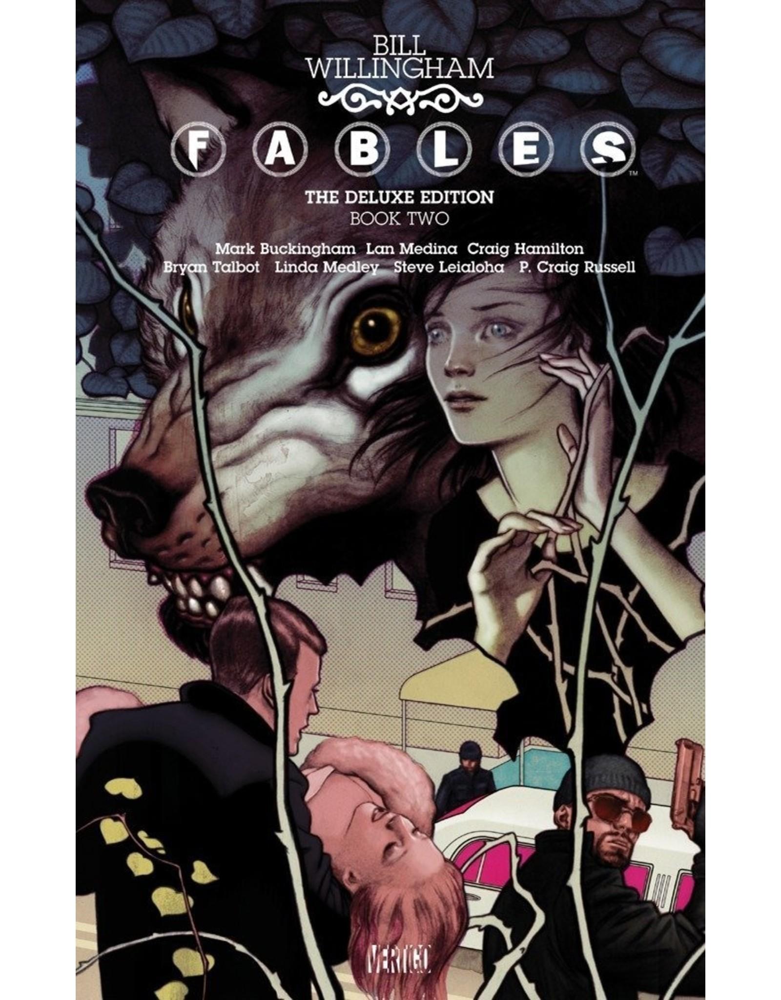 DC COMICS FABLES DELUXE EDITION HC VOL 02